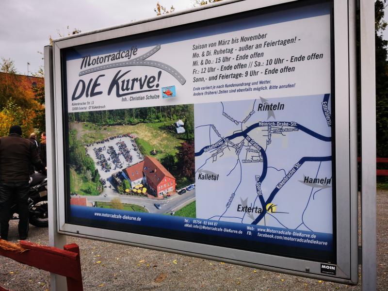 Günters Kurve Ziel und Information