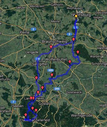 Tour zur Iberger Tropfsteinhöhle @ Start: Cafe Schrill, Ziel: Iberger Tropfsteinhöhle | Deutschland