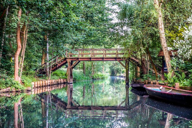 Spreewald - Brücke über ein Flies